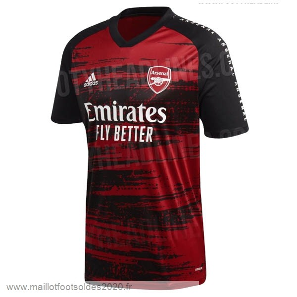 Vente De Maillot De Foot Pre Match Maillot Arsenal 2020 2021 Rouge